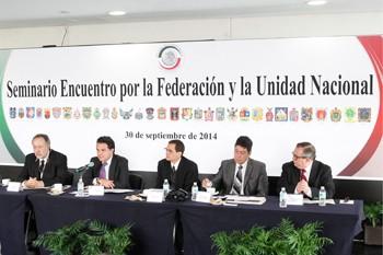 En Senado análisis a fondo del Federalismo
