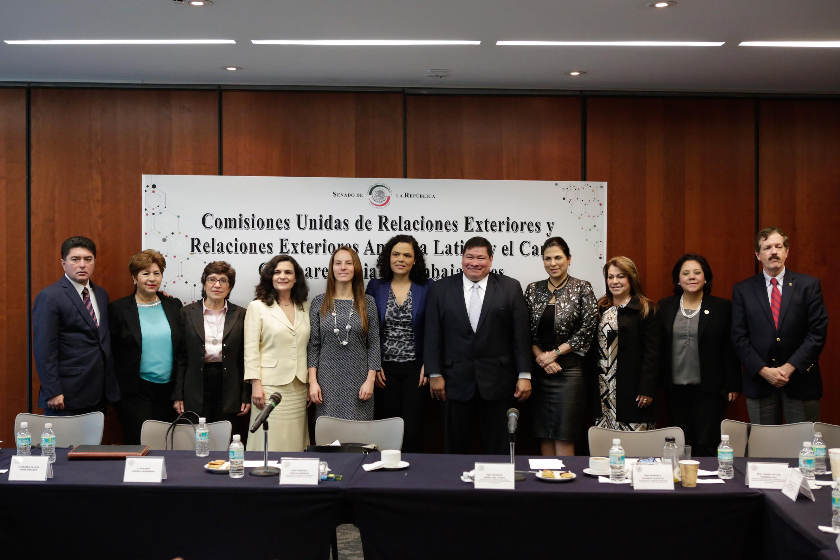 Comisiones unidas de relaciones exteriores y de relaciones exteriores am rica latina y el caribe for Relaciones exteriores honduras