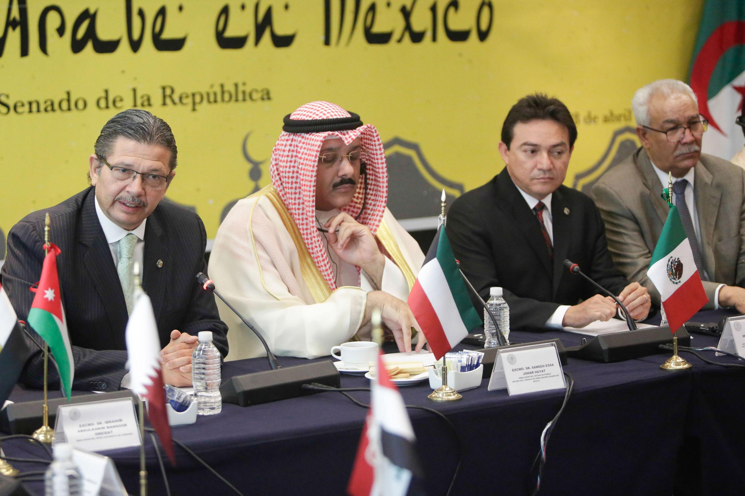 México y países árabes refrendan compromiso de fortalecer lazos bilaterales