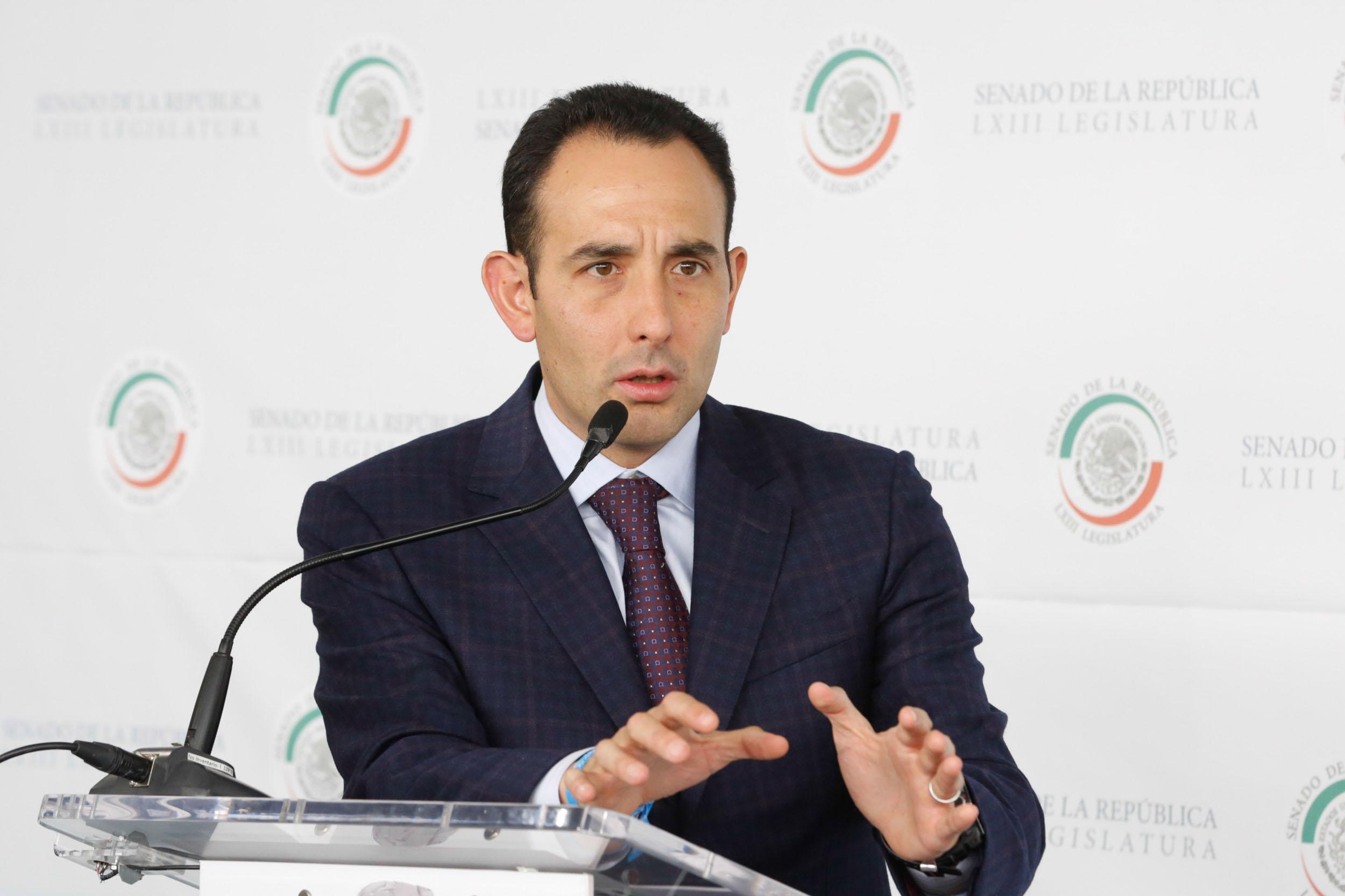 Hay que poner al Senado de la República en el sendero de las decisiones y concretar las demandas ciudadanas: Roberto Gil Zuarth